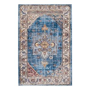 Bristol Blue and Ivory Area Rug