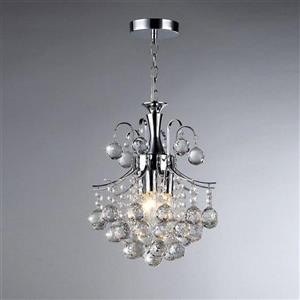 Warehouse of Tiffany Arden Chrome Transitional Crystal Pendant