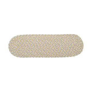Colonial Mills Blokburst 8-in x 28-in Daisy Dreams; Off-White Oval Stair Tread Mat - 13/pack