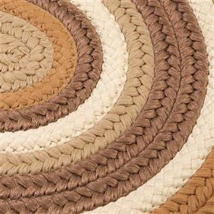 Colonial Mills Brooklyn 4-ft x 6-ft Amber Way Oval Indoor/Outdoor Handcrafted Area Rug