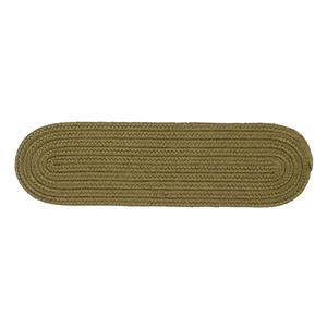 Colonial Mills Boca Raton 8-in x 28-in Oval Sherwood Stair Tread Mat - 13/pack