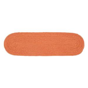 Colonial Mills Boca Raton 8-in x 28-in Oval Rust Stair Tread Mat - 13/pack