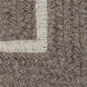 Colonial Mills Shear Natural 5-ft x 8-ft Rectangular Indoor Rockport Gray Area Rug