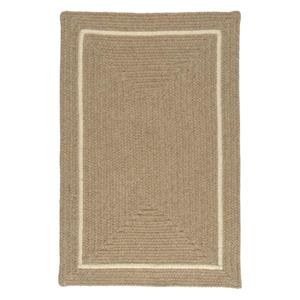 Colonial Mills Shear Natural 4-ft x 6-ft Rectangular Indoor Muslin Area Rug
