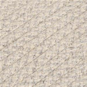 Colonial Mills Natural Wool Houndstooth 3-ft x 5-ft Cream Indoor Handcrafted Throw Rug
