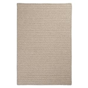 Colonial Mills Natural Wool Houndstooth 5-ft x 8-ft Cream Indoor Handcrafted Area Rug