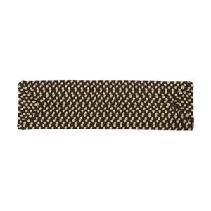 Colonial Mills Montego 8-in x 28-in Bright Brown Rectangular Stair Tread Mat - 13/pack