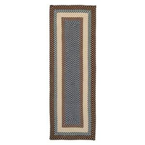 Colonial Mills Mentrgo 2-ft x 10-ft Bright Brown Indoor/Outdoor Handcrafted Runner