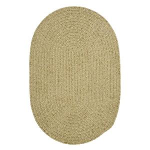Colonial Mills Spring Meadow 4-ft x 6-ft Oval Indoor/Outdoor Sprout Green Area Rug
