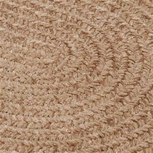 Colonial Mills Spring Meadow 7-ft x 9-ft Oval Indoor/Outdoor Sand Bar Area Rug