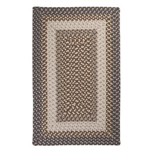 Colonial Mills Tiburon 4-ft x 6-ft Rectangular Indoor/Outdoor Misted Gray Area Rug