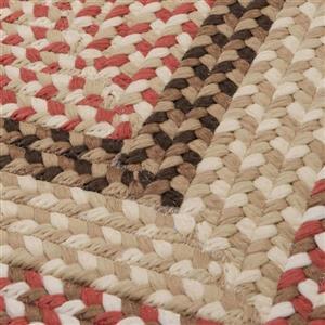 Colonial Mills Tiburon 2-ft x 10-ft Rectangular Indoor/Outdoor Rusted Rose Area Rug Runner