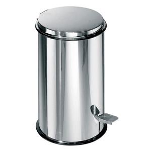 WS Bath Collections Complements Stainless Steel 20-gal Wastebasket