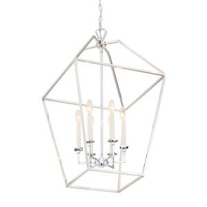 Quoizel Aviary 20-in Vintage Gold Traditional Cage Style Pendant Lighting