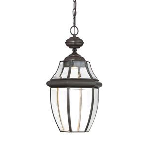 Newbury Clear LED Outdoor Pendant Light