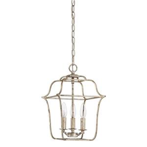 Quoizel Gallery 10-in Imperial Bronze Traditional Cage Pendant Lighting