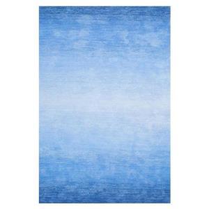 Blue Hand Tufted Ombre Bernetta Area Rug