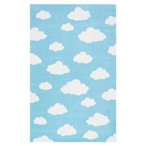 Blue Cloudy Sachiko Kids Area Rug