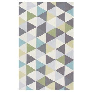 Hand Hooked Anderson Heritage Green Area Rug
