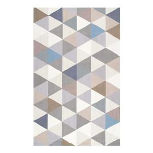 Hand Hooked Anderson Grey Area Rug