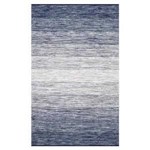 Blue Cayla Flatweave Area Rug