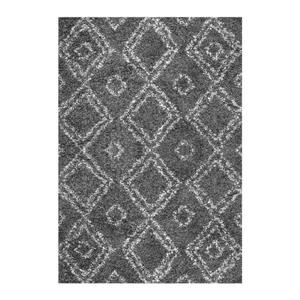 Iola Easy Shag Grey Area Rug