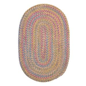 Colonial Mills Botanical Isle 4-ft Sand Round Area Rug