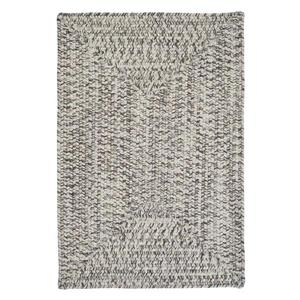 Colonial Mills Corsica 4-ft Silver Shimmer Square Area Rug
