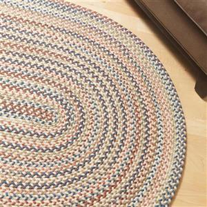 Colonial Mills Cedar Cove 4-ft Natural Round Area Rug