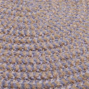Colonial Mills Softex Check 2-ft x 12-ft Amethyst Check Area Rug Runner