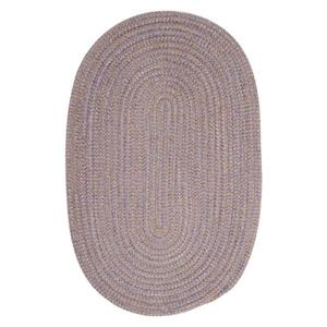 Colonial Mills Softex Check 8-ft Round Amethyst Check Area Rug