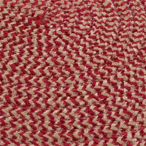 Colonial Mills Softex Check 2-ft x 12-ft Sangria Check Area Rug Runner