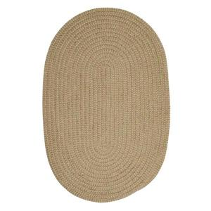 Colonial Mills Softex Check 6-ft Round Celery Check Area Rug