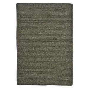 Colonial Mills Courtyard 8-ft Olive Round Area Rug