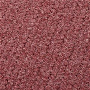 Colonial Mills Courtyard 4-ft Mauve Square Area Rug