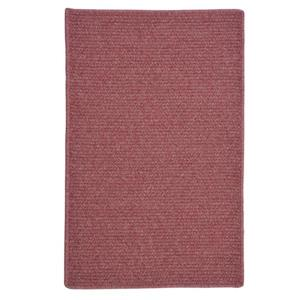 Colonial Mills Courtyard 6-ft Mauve Square Area Rug