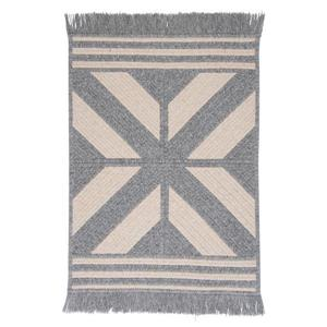 Colonial Mills Sedona 5-ft x 8-ft Rectangular Indoor Gray Area Rug