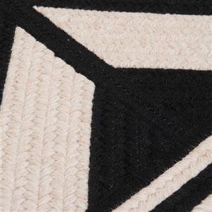 Colonial Mills Sedona 2-ft x 10-ft Rectangular Indoor Black Area Rug Runner