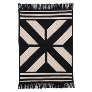 Colonial Mills Sedona 5-ft x 8-ft Rectangular Indoor Black Area Rug