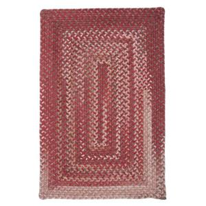 Colonial Mills Gloucester 6-ft x 6-ft Rhubarb Square Handcrafted Indoor Area Rug
