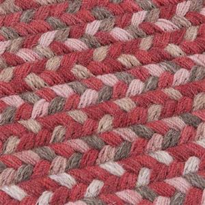 Colonial Mills Gloucester 8-ft x 8-ft Rhubarb Square Indoor Area Rug