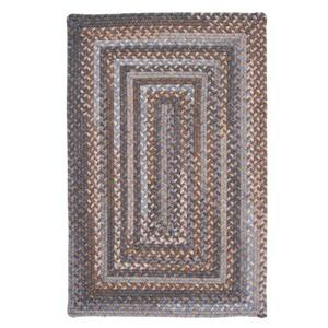 Colonial Mills Gloucester 4-ft x 4-ft Graphite Square Indoor Area Rug