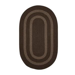 Colonial Mills Graywood 3-ft x 5-ft Brown Oval Area Rug