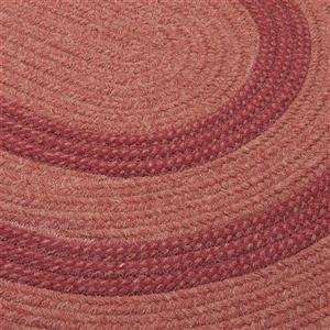 Colonial Mills Graywood 7-ft x 8-ft Cedar Round Area Rug