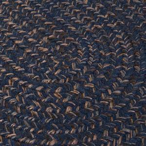 Colonial Mills Hayward 8-ft x 11-ft Oval Navy Indoor Area Rug