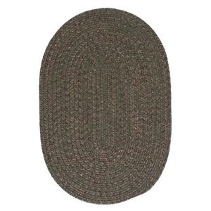 Colonial Mills Hayward 5-ft x 6-ft Round Olive Indoor Area Rug