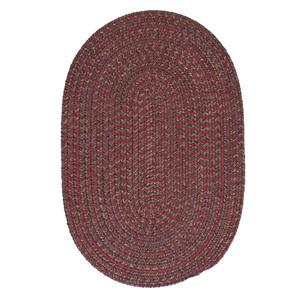 Colonial Mills Hayward 3-ft x 4-ft Berry Round Indoor Area Rug