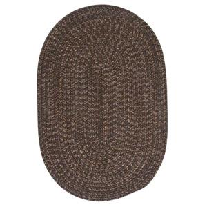 Colonial Mills Hayward 3-ft x 4-ft Bark Round Area Rug