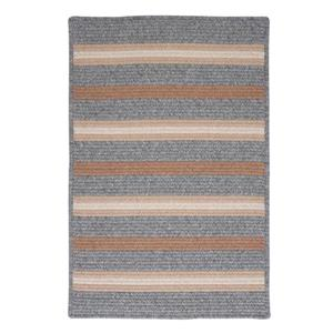 Colonial Mills Salisbury 4-ft x 4-ft Gray Square Area Rug