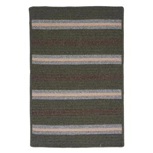 Colonial Mills Salisbury 4-ft x 4-ft Square Indoor Olive Area Rug